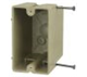 "1098N - 1G 20.5 Cubic Inch 3-1/4"""" Deep Switch Box - Allied Moulded Products"