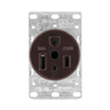 1254 - 50A 250V 2P3W Flush RCPT - Cooper Wiring Devices