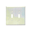 2139W - 2G Switch Plate - Cooper Wiring Devices