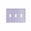 2141W - 3G Switch Plate - Cooper Wiring Devices