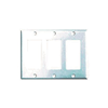 2163W - 3G Decorator Plate - Cooper Wiring Devices