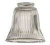 2291 - Clear Ribbed Glass - Quorum
