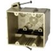 2302NK - 2G Fiberglass Switch Box W/ Nails - Allied Moulded Products