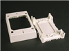 2348S51WH - NM Shallow Ext Box 2300 White - Wiremold