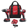 269122 - 18V CMPT Drill/Impact 2PC Kit - Milwaukee Electric Tool