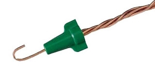 Preferred Industries Green Grounding Wire Connectors WP722-BOX-GREEN Box//100 NEW