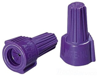 30365 - Al/CL Twister Connectors 65 Purple 1000/BX - Ideal