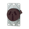 32B - 50A FLSH Range Receptacle - Cooper Wiring Devices
