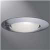 "401P - 6"" Trim Open Large Aperture White Trim - Cooper Lighting Solutions"