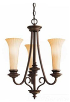 421500Z - 3-60C Oz Abbyvlle Up PNDNT - Kichler Lighting