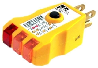 Etcon CT101 Receptacle//GFCI Tester Combined