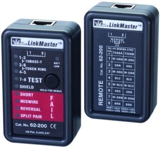 62200 62 200 Ideal Linkmaster Tester Featured Electrical Circuit Tracers And Testers At Test Equipment