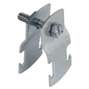 "7032EG - 2"" Unv-Emt, Imc, & Rigid-Electro Gal Strut Strap - Thomas & Betts"