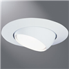 "78P - 6"" Trim PAR30L Eyeball White Trim W/White Eyeba - Cooper Lighting Solutions"