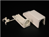 810A2 - NM Ent End FTG 800 Ivory - Wiremold