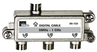 85133 - 3-Way Splitter 5-1 GHZ - Ideal