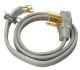 9124SW8809 - 4' 3 Wire Dryer Cord - Cables & Cords