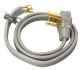 9154SW8808 - 4' 4 Wire Dryer Cord 10-4 - Cables & Cords