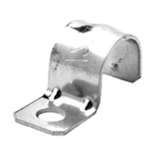 Halex 61115B 1-Hole Conduit Strap Steel 1-1//2 1-1//2 In