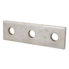AB207EG - 3 Hole Flat Straight Electro Galvanized Fitting - Thomas&Betts-Abb Ins Prod