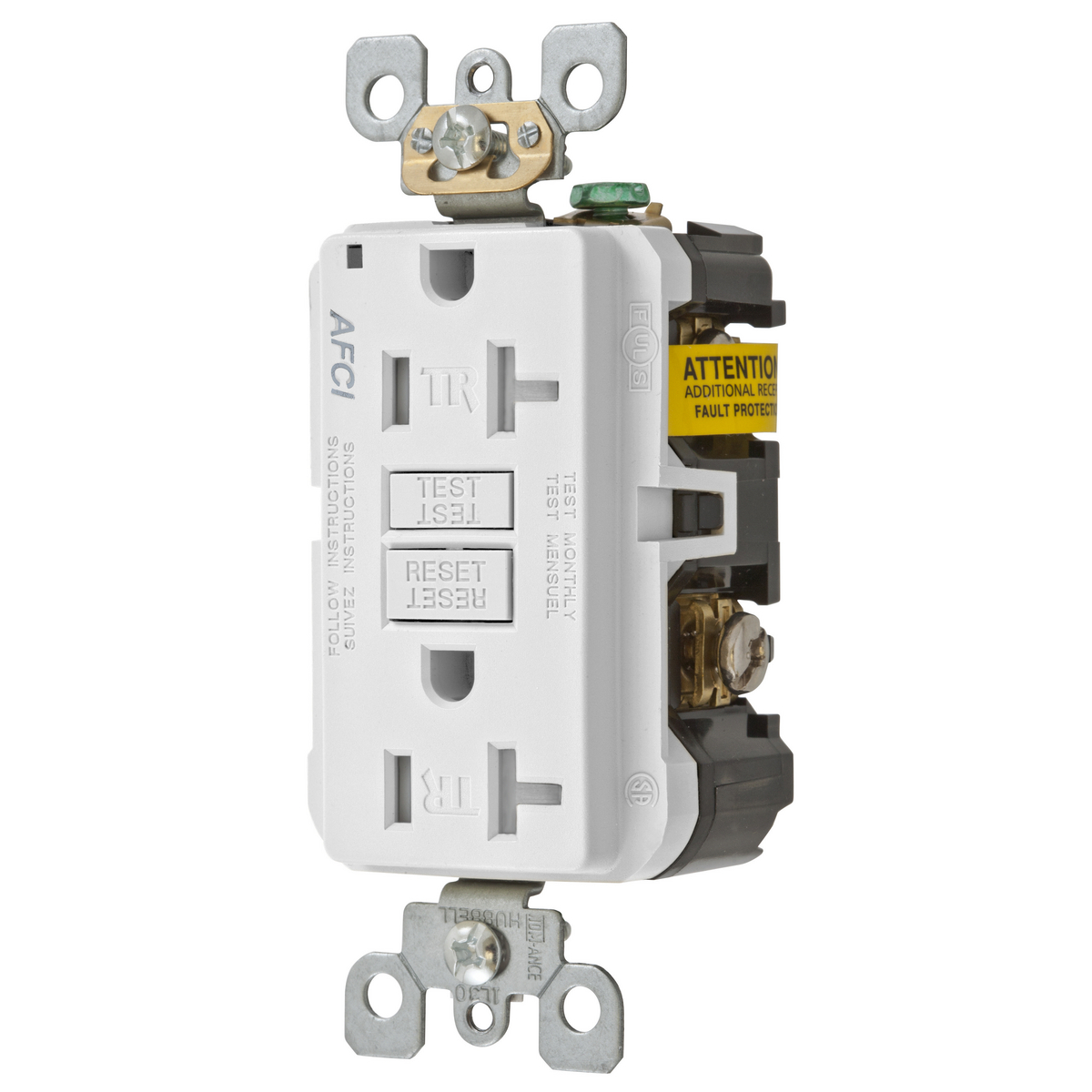 Search Results For Gen Purpose Recept Surge Pro 15 Amp Circuit Guard Gfci Receptacle Ivory Hd Supply View Larger