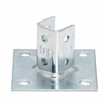 B280ZN - BLTD 6X6, 3-1/2 Angl SPRT ZN PLT Post Base - Cooper B-Line/Cable Tray