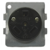 BR32U - 30A Recept ? 2P3W Grounding - Indust Conne & Solut Dba