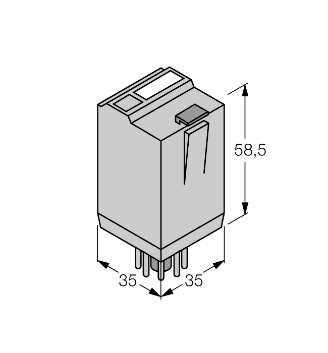 C2A20X120VAC - Relay, 8 Pin Round on 8 pin ice cube relay wiring diagram, 8 pin relay pinout diagram, 8 pin relay socket diagram,