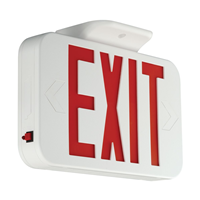 CER - Led Exit WHT/Red LTR - Hubbell Lighting, Inc.