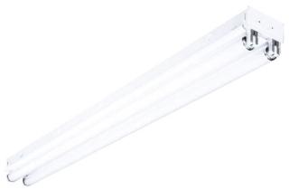 CS82544EPU Columbia Lighting Fluorescent Striplight, Straight Side ...