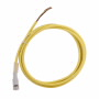 CSAS3F3CY1802 - Micro Cordset ST Ac 3PIN 3WIRE 18AWG PVC Yel 2M - Eaton
