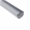 DICPCHASQ48 - Alum SQ Channel - Diode Led