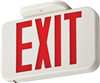 EXRLEDM6 - Led Exit Red Letter 120/277V Ac Only Thermoplastic - Lithonia Lighting