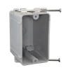 EZ20SNW - 1G Wall Box - Nail On - PVC & Accessories