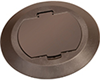 FLBC4520BR - BRWN Flip CVR W/ Level Ring - Arlington Industries