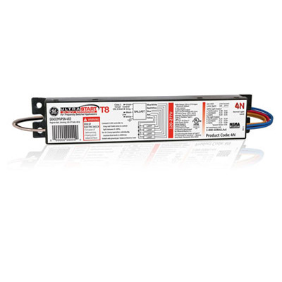 LINEAR FLOURESCENT BALLAST 1-PACK GE 73229 LFL ULTRAMAX Step Dimming Electronic Dimming Ballast PARALLEL LAMP WIRING