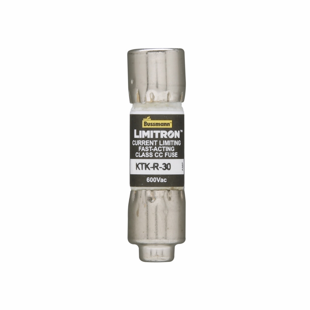 KLKR-30 Littelfuse KLKR30 30 Amp 600V Fuse Current Limiting Fast Acting