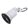 LT100WH - WHT STD Lampholder - Hubbell--Raco