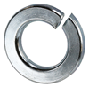 "LW14 - 1/4"" Lock Washers Zinc Plated - L.H. Dottie CO."