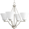 P462209 - 4-100W Bni Chandelier - Progress Lighting