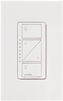 PD6WCLWH - White Wireless 120V In-Wall Dimmer - Lutron