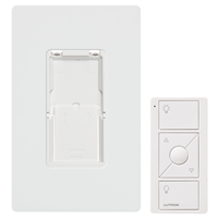 PJ2WALLWHL01 - White Pico W/ Faceplate & Wallmount Kit - Lutron