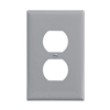 PJ8GY - 1G Mid Dup Wallplate - Cooper Wiring Devices