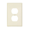 PJ8LA - 1G Mid Dup Wallplate - Cooper Wiring Devices
