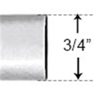 "PVC34 - 3/4"" SCH40 10' Length PVC Conduit - PVC"