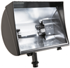 QF500F - 500W 130V Quartz Flood W/Hood Bronze - Rab Lighting