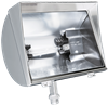 QF500FW - 500W 130V Quartz W/Hood White - Rab Lighting