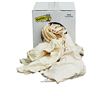 RGZ5 - 5 LB Box Of Rags (New White Knit) - L.H. Dottie CO.