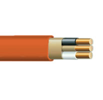 100' 10//2 W//Ground Wire Nonmetallic Sheathed Cable COPPER WIRE Cut To Order