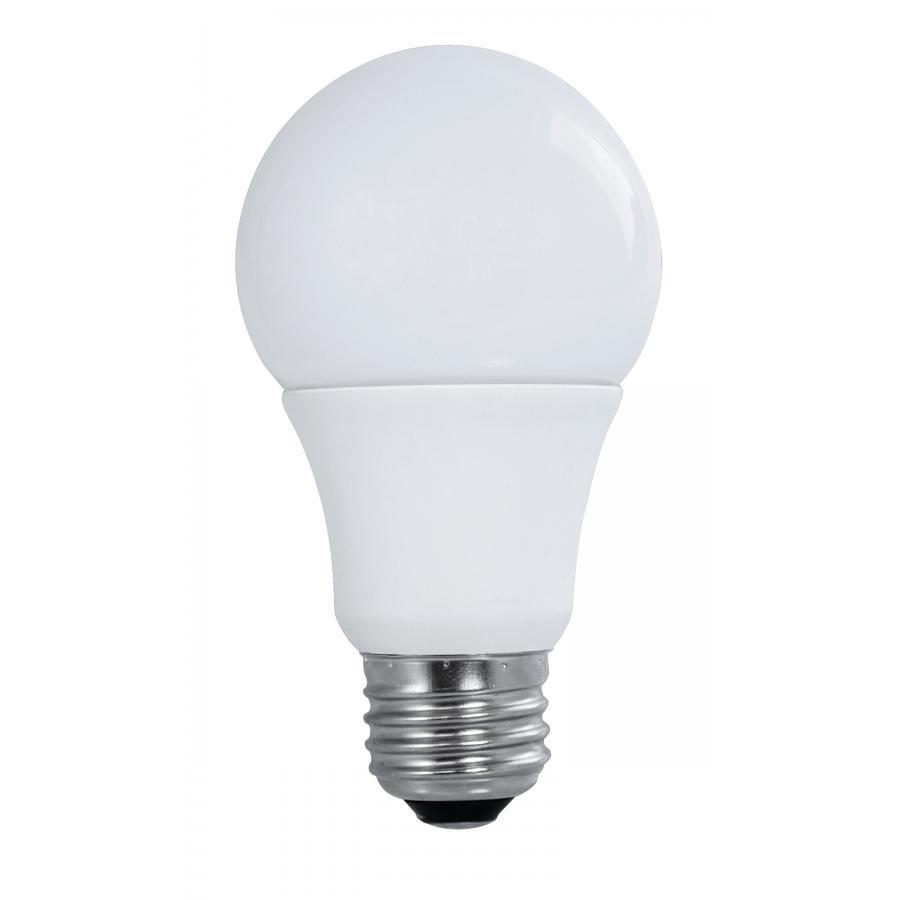 Satco S9840 Series 9.5 watt; A19 LED; 2700K; GU24 Base; 220 Beam Spread; 120 Volts